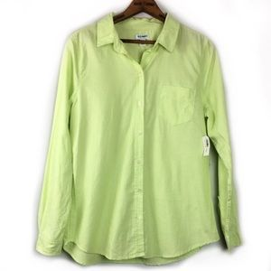 Old Navy 100% Cotton Collared Button Down Shirt